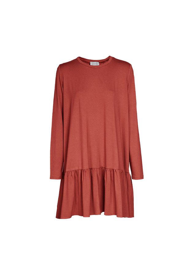 sukienka_ceglasta_madalen_przód_byMartaM