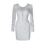 sukienka_biała_mini_byMartaM_przód